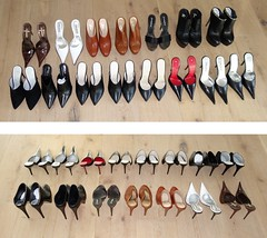 High Heel Inventory - Rosinas Mules (Rosina's Heels) Tags: high stiletto pumps heel