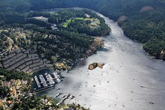 View over Brentwood Bay, Anglers Anchorage Marina & Butchart Gardens - Seaplane Flight, Victoria, British Columbia, Canada (Black Diamond Images) Tags: seaplaneflight victoriaseaplaneflights victoria britishcolumbia canada floatplaneflight scenicflight floatplanetours innerharbour floatplane aircrafttours aircraft seaplane seaplanecharterflights harbourairseaplanes harbourair seaplanes victoriapanorama seaplanetour airplane aerialphoto aerialphotography todinlet butchartgardens brentwoodbay aerial aerialphotos scenictours travelbritishcolumbia britishcolumbiatravel holidaysbritishcolumbia britishcolumbiaholidays