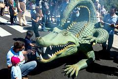 crocodile | castillo de bellver | palma de mallorca (John FotoHouse) Tags: 2017 travel dolan flickr fujifilmx100s fuji johnfotohouse johndolan leedsflickrgroup copyrightjdolan color colour palmademallorca crocodile angelfestival