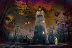 TheTower (Maxwell Hamilton) Tags: tower park night wood demon ghost horror fantasy monk