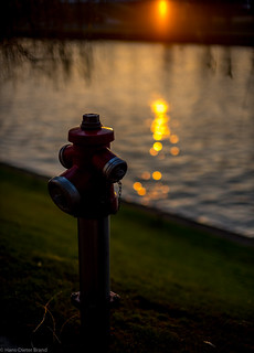 Sonnenaufgang am Mittellandkanal