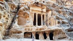 JORDANIA (Grace R.C.) Tags: jordania petra roca rock ruinas ruins antigüedad arqueología archeology