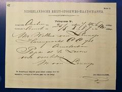 Amsterdam 2018 – Telegram (Michiel2005) Tags: telegram jacobvanlennep vanlennep stadsarchiefamsterdam archief debazel amsterdam nederland netherlands holland