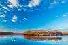 L' étang Neuf (Thos A.) Tags: longexposure pond lake island mirror blue sky bluesky landscape water trees clouds étang miroir ciel natur nature nuages canon eos80d sigma bourgogne burgundy nièvre