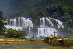 Největší vietnamský vodopád Ban Gioc (zcesty) Tags: řeka vodopád vietnam20 most krajina vietnam bangioc dosvěta chongzuo caobằng vn