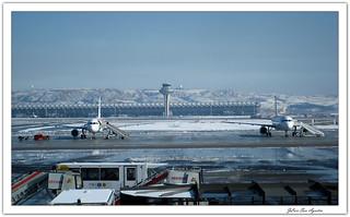 Aeropuerto Madrid-Barajas.....**Madrid**