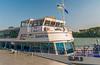 Our Brandner Schiffahrt Tourboat Austria in Krems (fotofrysk) Tags: brandnerschiffahrttourboataustria krems mooring quay kai boat ship donauriver thedanube river trees green hills easterneuropetrip melkkremscruise austria oesterreich sigma1750mmf28exdcoxhsm nikond7100 201709288937