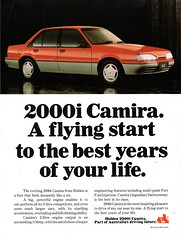 1988 JE Holden Camira 2000i Sedan Aussie Original Magazine Advertisement (Darren Marlow) Tags: 1 2 8 9 19 88 2000i j e je holden h c camira s sedan a automobile v vehicle car cool collectible collectors classic g m gm gmh general motors world w 80s