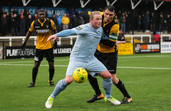 Cray Wanderers 1 Lewes 2 20 01 2018-269.jpg (jamesboyes) Tags: lewes cray bromley football bostik isthmian fa soccer action goal game celebrate celebration sport athlete footballer canon dslr