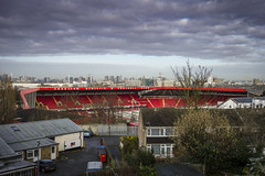 Charlton Athletic's Ground - The Valley (London Less Travelled) Tags: uk unitedkingdom england britain british london city urban charlton greenwich charltonathletic football sport thevalley