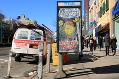 abe lincoln jr. (Luna Park) Tags: abelincolnjr ny nyc newyork adtakeover phonebooth lunapark