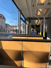 Trambahn Linie 19 am Sonntag (Laterna Magica Bavariae) Tags: sonntag trambahn linie 19 pasing banhof bavaria germany bayern baiern