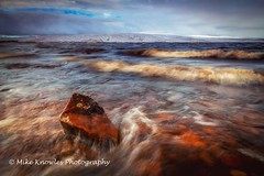 Cow Green Reservoir (mikeknowles60) Tags: cowgreenreservoir countydurham waves water lake longexposure