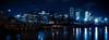 Puteaux, et au loin la Défense (laurent.dufour.paris) Tags: 2018 28mm arbres bleu candid canon couleurs crue eau eos5dmarkiii europe everybodystreet france hiver inondation laseine lavieencouleur landscape longexposure night nuit objectifgrandangle paysage péniches poselongue puteaux regardsparisiens soir streetphotography winter
