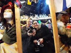 Its Us... Nina & Sean at the Christmas Market in Belfast December 2017 (sean and nina) Tags: nina christmas market belfast city centre public candid street photography woman female girl lady girlfriend fiancee wife happy amiling marries black duffle coat dress legs dm boots doc martens beauty gorgeous stunning amazing cute charm charming serb north northern ireland irish eu europe european aire glasses brunette long dark hair camer people persons outdoor outside model perfect december 2017 eating drinking smiling walking incredible pose posed posing unposed
