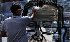 Spray can , sure can (whidom88) Tags: dublin ireland street art temple bar spray paint