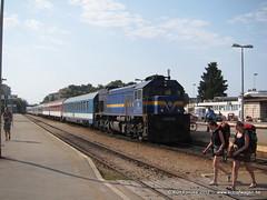 Kreuz, quer- und Rundfahrten sind nicht gestattet . . . (MU4797) Tags: europarundreise082012 interrail drehscheibeonlinereisebericht trein spoorwegen hz kroatia nachttrein nachtzug schlafwagen slaapwagen split