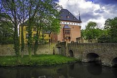 Düren - Schloß Burgau (FBK1956) Tags: ausen castle burgau 2017 deutschland nrw schlos burg düren
