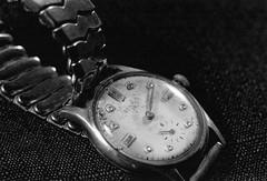 my grandfather's watch (patrickhanleyjr) Tags: leica elmar trix itsnotacapture visoflex watch