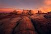 Through the Cracks (mattymeis) Tags: arizona southwest white pocket vermillion cliffs remote desert sunrise rocks sandstone formations camping matt meisenheimer