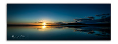 Go Wide Or Go Home (RonnieLMills) Tags: pano panoramic strangford lough scrabo tower sunset low tide reflections portaferry road newtownards