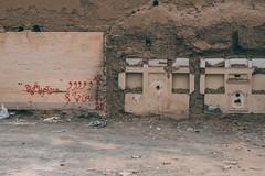 The Wall (toletoletole (www.levold.de/photosphere)) Tags: fuji fujixpro2 isfahan xf18135mm esfahan wall gebäude wand building graffiti
