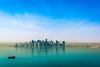 Doha-morning (Marcello Arduini) Tags: morning seaside skyline doha top20flickrskylines