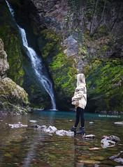 Beautiful Waterfall (BesimIbrahimii) Tags: kosovo water waterfall drini rock girl landscape balkan beautiful blue nature nice new