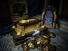 The Tomb of Horrors (ridureyu1) Tags: tombofhorrors tombofannihilation acererak tombstraps dungeonsdragons dd dungeonsanddragons tsr wizardsofthecoast wotc rpg roleplayinggame gygax arneson toy toys actionfigure toyphotography sonycybershotsonycybershotdscw690