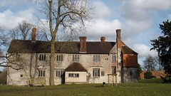 Baddesley Clinton (Nick:Wood) Tags: baddesleyclinton warwickshire nationaltrust manorhouse manor trees sky brick