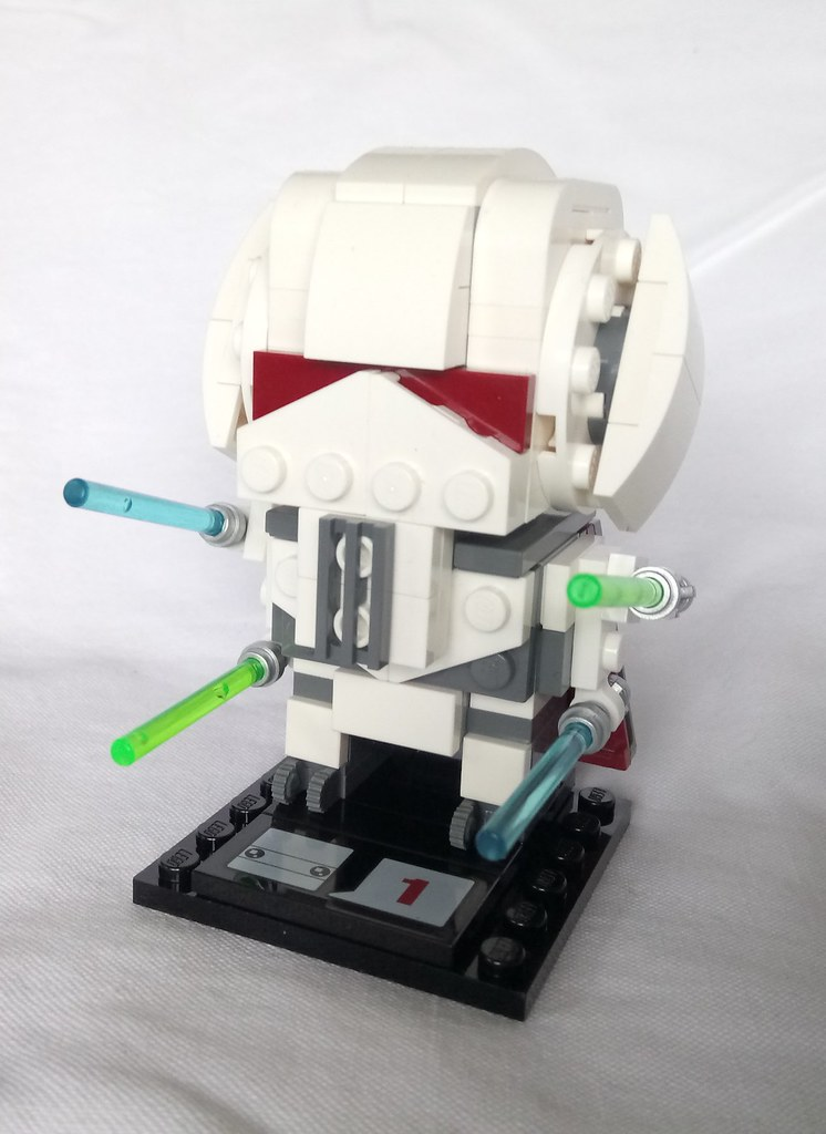 lego general grievous minifigure instructions