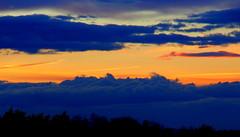 Sachsenhimmel (michaelschneider17) Tags: abend sachsen sonnenuntergang natur farben wetter wolken