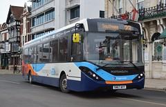 26154 SN67WVY (PD3.) Tags: 26154 sn67wvy sn67 wvy adl enviro 200 mmc 23 bus buses psv pcv hampshire hants england uk portsmouth stagecoach hard gunwharf quays