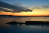 Sunset (Yohsuke_NIKON_Japan) Tags: d750 nikon shimane matsue sunset lakeshinji shinji lake dusk color beautiful sanin japan natural nature 24120mm longexposure winter