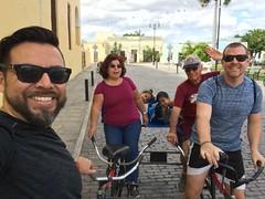 01-14-18 Biciruta Morning 03 (Gil, Carmen, Luna, Leo, Jose Antonio, & Derek) (derek.kolb) Tags: mexico yucatan merida family