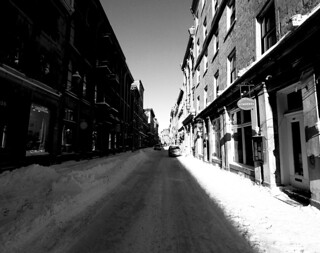 Saint Paul Winter in Old Montreal