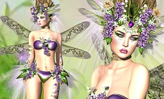 Spring Spirit (Lori Novo) Tags: irrisistible shop swank event fantasy spring fairy elf butterfly clothes sl second life