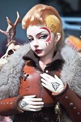 Tattoo and warpainted (vanyrei) Tags: warpainted tattoo bjd balljointeddoll dolls viking celtic hand mir mika minifee shieldmaiden faceup mywork custom diy warrior female