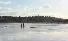Sunset Beach Stroll (philipbouchard) Tags: beach sand shore walking strolling sunset australia sydney newsouthwales deewhy northernbeaches pacificocean sandspit couple pair nsw coast