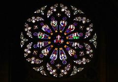 Stained Glass - St Leonard's Church, Charlecote, Warwickshire  (4) (Richard Collier - Wildlife and Travel Photography) Tags: stleonard'schurch charlecote warwickshire stainedglass stainedglasswindow stained