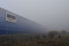 Amazon or Apparition in the mist (mechanicalArts) Tags: amazon shipping warehouse winsen luhe versandlager nebel mist fog