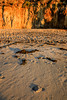 Red Seaweed Footsteps (JohnLazo19) Tags: beach california canon5dmarkiv coast elmatador longexposure morning ocean pch rocks sun sunrise water