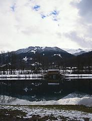 Blue Lac (aureliemourlon) Tags: ngc photoshop nikon winter hiver samoens lacbleu paysage landscape