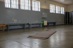 Robben Island - The prison - Mats in the common cell (davidthegray) Tags: nelsonmandela mandela sudafrica robbenisland capetown cittàdelcapo kaapstad southafrica westerncape za