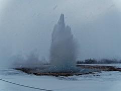 Geysir (akroushy) Tags: geysir iceland winter