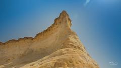Zelreet 2 (Mohamed Rimzan) Tags: doha zekreet desert canon landscape qatarliving rock mountain hot sunny blue bright wideangle beautiful