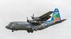 Pakistan AF Lockheed C-130E Hercules 4153 '153' (Hugh Dodson) Tags: riat2017 arrivalsday fairford pakistanaf lockheed c130e hercules 4153 153
