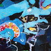2012_slika_plexi_iskanje_50x50cm_Peter_Ciuha (peter.ciuha) Tags: paintings acrylic glass plexi canvas peter ciuha hanji paper kozo tak illuminated