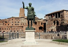 Rome - Italy (Been Around) Tags: rom rome italy roma lazio latium eu trajan forum italien italia europa trajansforum forumtraiani viadeiforiimperiali statuaditraiano statuaditraianoroma