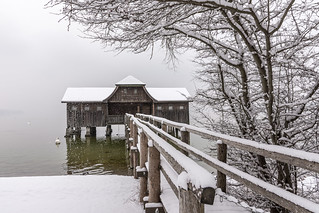 Winter at lake Ammersee